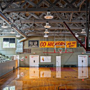 The Hoosier Gym. Photo Courtesy of The Hoosier Gym Facebook page.